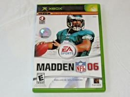 Enloquecer NFL 06 Microsoft Xbox Live Online Enabled 2005 Videojuego E-E... - $16.03