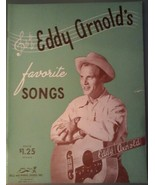 Eddy Arnold's favorite Songs ~ 1948 Song Book - $6.92