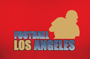 Los Angeles Football Team Sports Style Graphic T Shirt Black Red White L XL 2XL