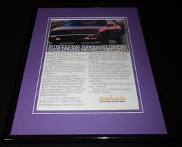 1987 Oldsmobile Toronado Trofeo 11x14 Framed ORIGINAL Vintage Advertisement - $34.64