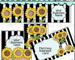 Pretty sunflower esty shop set thumb155 crop