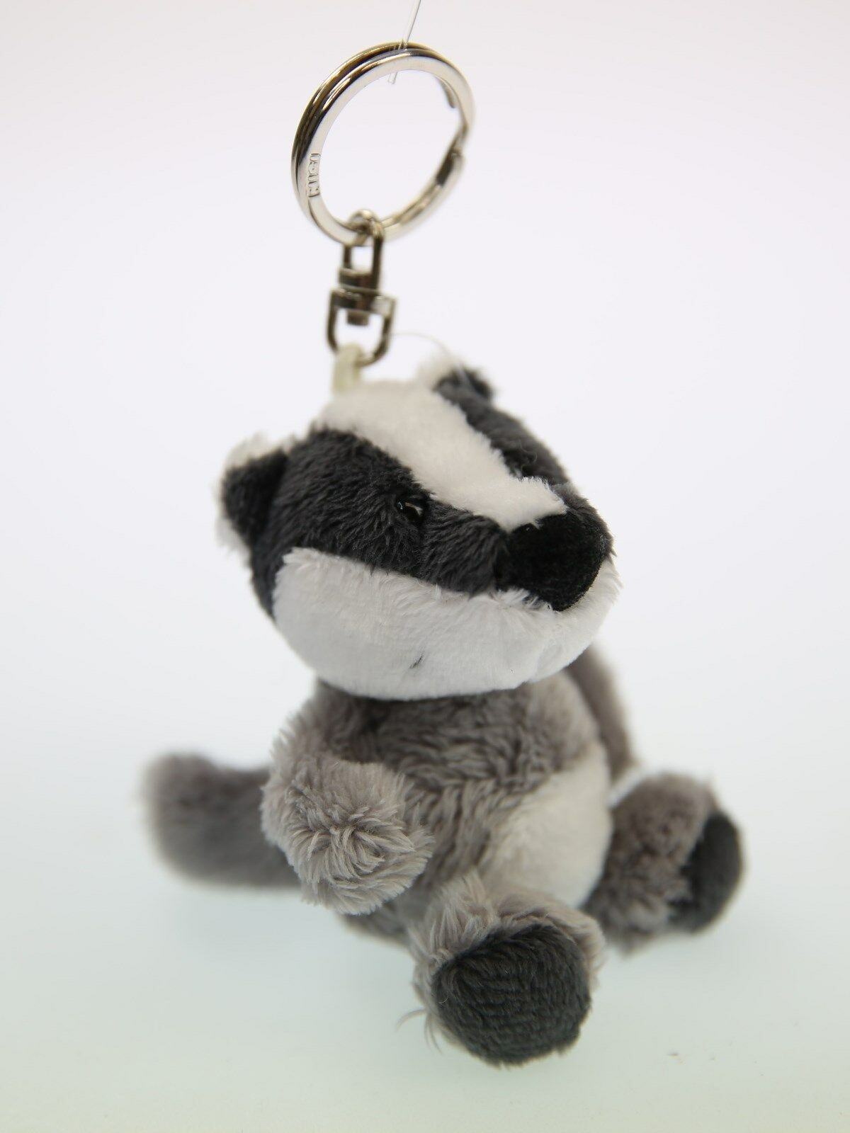 NICI Hedgehog Brown Key Ring Stuffed Toy Talisminis 3 inches 7 cm
