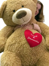 Your Custom Personalized Name or Message on 5 Foot Giant Teddy Bear, Has... - $157.21