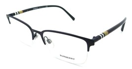 Burberry Eyeglasses Frames BE 1323 1261 54-18-145 Matte Dark Blue Made i... - $176.40