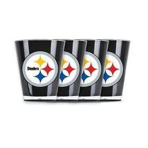 Brand New NFL Pittsburgh Steelers Shot Glass Set (4-Piece) - $828,31 MXN
