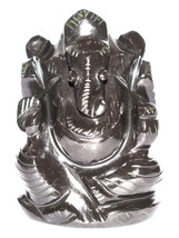 Ganesha in Black Jade - 138 gm - $55.00