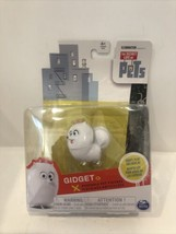 Secret Life Of Pets Gidget Posable Pet Figure White Puppy Toy Spin Master A7 - $11.99