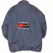 VTG XL Tommy SPORTS Flag Hilfiger Puffer Jacket Coat Mens Tiger Collection - $79.15
