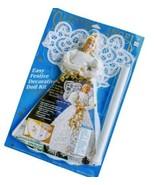 Daisy Kingdom Glitter Angel Doll Kit 1994 NOS 1990s 16.5 in  - $23.36