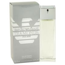 Emporio Armani Diamonds by Giorgio Armani Eau De Toilette Spray 2.5 oz for Men - $77.22