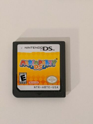 Mario Party Nintendo DS, 2007 Game Cartridges for 3DS/NDSI/2DS