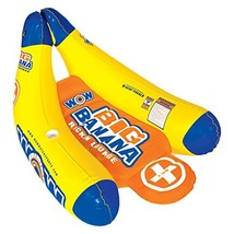 WOW World of Watersports 13-2020, Big Banana Inflatable Lounge, 1 Person, 2 Cup