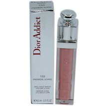 Dior Addict Gloss Mirror Shine Volume & Care 6.5 Ml #153 Premiere Soiree Nib - $36.14