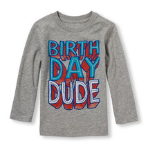 Children's Place Infant & Toddler Boys T-Shirt Varous Sizes NWT Birthday... - $9.99