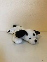 "Beanie Baby Dotty Dog Dalmatian PE Pellets 6th Gen Tush 9"" TY 1996 Missing Swing - $4.55"