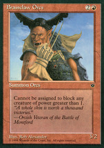 Magic: The Gathering - Fallen Empires - Brassclaw Orcs (A) - $0.25