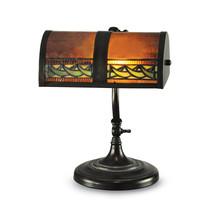 Non Metal Dale Tiffany Egyptian Desk Lamp (Length=10) (Width=7.75) [Gm18... - $210.42