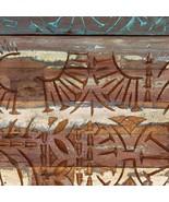 vidaXL Hand Carved Bedside Cabinet Solid Reclaimed Wood Sideboard Storage - $99.99