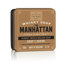 Scottish Fine Soaps Manhattan in a Tin 100g 3.5oz, Imported From Scotland - $13.99