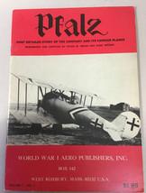 WW1 Aero Pfalz Vol 1 # 1  Rare - $9.89