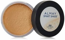 Almay Smart Shade Loose Finishing Powder, Light MEDIUM 200 SEALED FRESH - $11.95