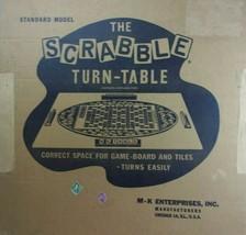 Vintage M-K Enterprises The Scrabble Turn-Table Patents Applied For - $69.29