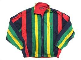 NAUTICA Multi-Colored Reversible Full Zip Jacket Men's Size X-Large 100%... - $148.45