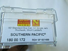 Micro-Trains # 18000172 Southern Pacific 50' Standard Boxcar N-Scale image 5