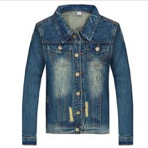 Spring Autunm Men  Fashion jean Jackets  Jacket For Men Male Jean Outerw... - $59.16