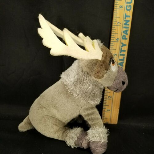 "Disney Plush Frozen Sven Reindeer Moose stuffed animal 7"" Ty Sparkle image 6"