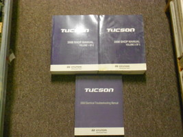 2008 Hyundai Tucson Service Repa Workshop Shop Manual SET FACTORY W EWD OEM - $197.94