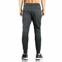 Men's Athletic Running Sport Workout Fitness Gym Zip Pocket Jogger Sweat Pants image 6