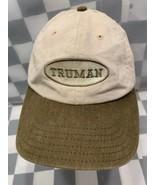 TRUMAN University Square Baseball Adjustable Adult Cap Hat - $12.12
