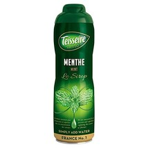 Mint Teisseire Concentrated Mint Syrup for drinks, sodas, and flavoring ... - $25.45