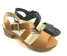 Restricted Hashtag Low Thick Heel Sandals Choose Sz/Color - $64.00