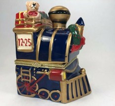 Mr. Christmas Animated Porcelain Train Music Box Plays Deck the Halls 2012 - $39.59