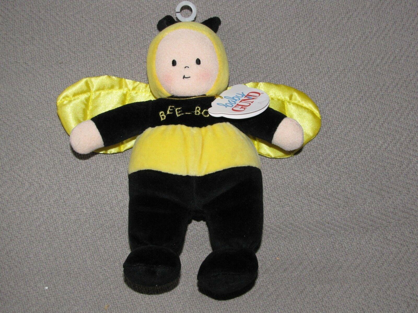 Primary image for BABY GUND BEEBOP BEE BOP BUGGY BOPS BUMBLEBEE BUMBLE STUFFED PLUSH DOLL SATIN