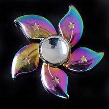 Rainbow Bauhinia Flower Fidget Toy - One Item w/Random Color and Design image 6