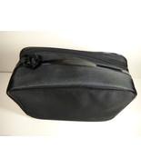 set of 2 Lancome Paris Black Large Cosmetic Makeup case Brush storage or... - $30.89