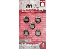 Spellbinders Media MiXage Sqares One Bezels, 5 Pack #MB1-502S