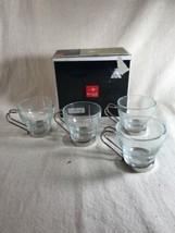 Bormioli Rocco Casa Fine Italian Glassware Expresso Cups. Set of 4  - $28.03
