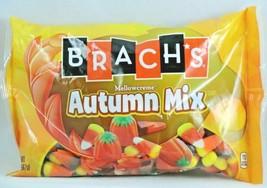 4x 20oz BAG BRACH'S AUTUMN MIX MELLOWCREME CANDY CORN PUMPKINS HARVEST corn NEW image 2