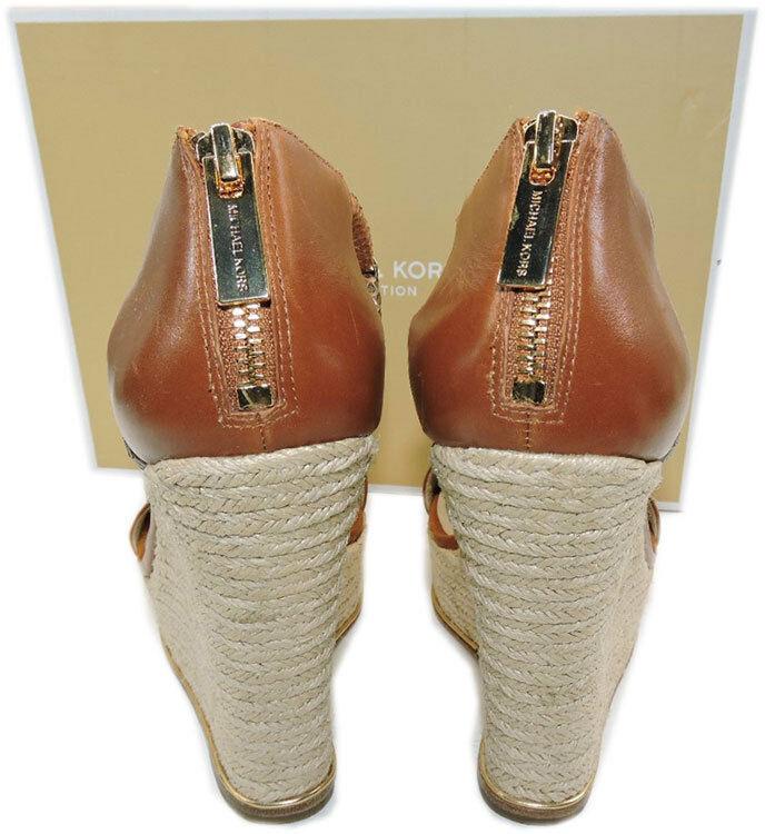 Michael Kors Zeppa Sherie Espadrillas Bagaglio Scarpa Sandalo 39 image 7