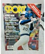 Sport Magazine July 1980 Gorman Thomas Brewers Larry Holmes Staubach FAIR - $4.94