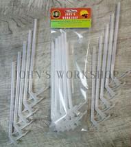 Ten 10 Expanding Insulation Sealant Dispenser Straws Great Stuff Foam No... - $11.52