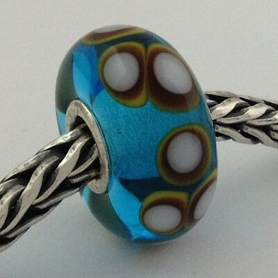 Primary image for Authentic Trollbeads Ooak Murano Glass Unique Bead Charm #16, New