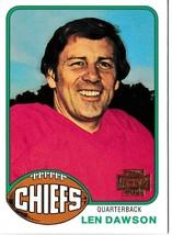 2001 Topps Archives Len Dawson Football Trading Card #162 Kansas City Ch... - $3.95