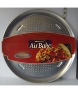 "Air Bake by WearEver Perforated Aluminum Large 15"" Pizza Pan NIP - $12.96"