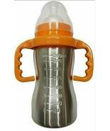 RIANZ Thermal Insulation Stainless Steel Baby Feeding Bottle - 290ml mul... - $31.34