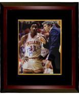 Bobby Knight signed Indiana Hoosiers 8x10 Photo Custom Framed 1981 Natio... - $123.95